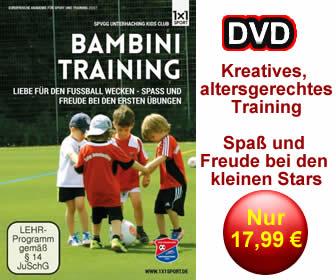 DVD - Bambini Fu�balltraining